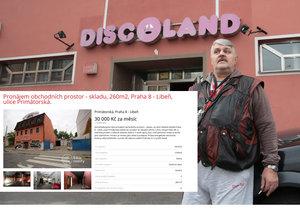 Jonákův Discoland je k pronájmu!