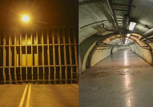 Prohlídka Strahovského tunelu včetně zázemí a podzemního komplexu