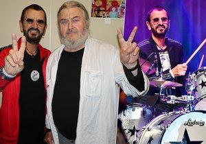 Ringo Starr zaplnil pražské Kongresové centrum.
