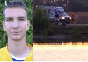 Táta fotbalisty Honzy (†18) se obul do záchranářů: Syna mohli zachránit!