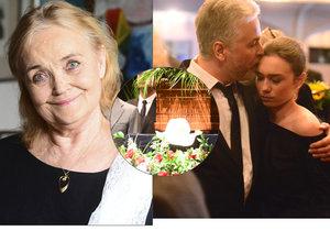 Poslední rozloučení s Gabrielou Vránovou