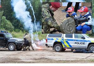 Den pozemního vojska Bahna 2018, 23. června 2018 u Strašic na Rokycansku.