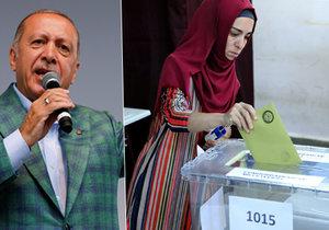 Erdogan v Turecku sahá po výhře v 1. kole. Ve volbách uspěla i jeho strana