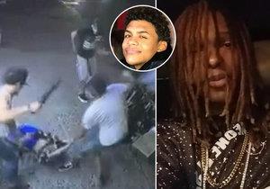 15letého chlapce rozsekal gang mačetou: Rapper brutální video sdílel na sociální síti, aby získal víc fanoušků.