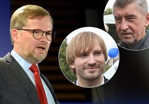 """ODS se zbavila Babišova ministra. Na Vojtěcha """"prasklo"""" modré tajemství"""