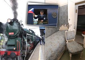 Českou i Slovenskou republiku bude křižovat speciální, tzv. Prezidentský vlak. Veřejnosti ukáže lukrativní prostory, ve kterých cestovali českoslovenští představitelé státu, i putovní výstavu.