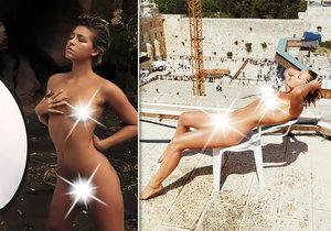 Belgická modelka Marisa Papen znovu šokuje.