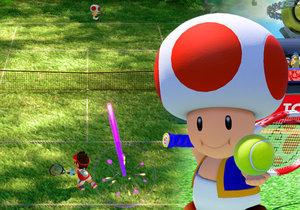 Mario Tennis Aces je výborný arkádový tenis.