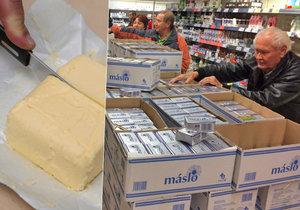 Opět hrozí, že se v Česku zdraží máslo.