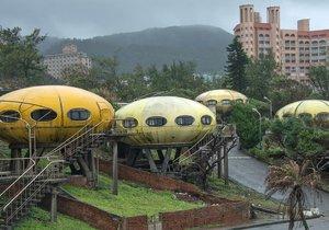 UFO vesnice na Taiwanu