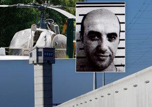 Zloděj Redoine Faid uprchl z vězení pomocí helikoptéry.