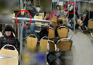 Agresorovi (27) z tramvaje nyní hrozí až 12 let vězení.