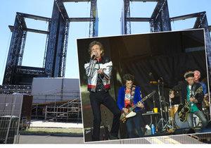 Pódium pro Rolling Stones stavělo 270 lidí po dobu tří dnů.