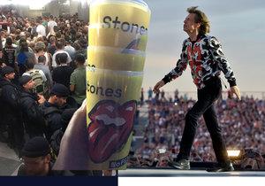 V Letňanech zahráli Rolling Stones.