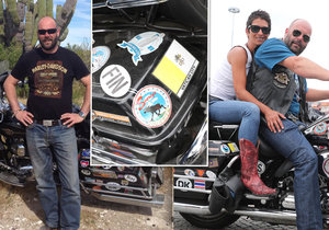 Pavel Šnajdr brázdí svět na motorce už 10 let, projel 67 zemí.