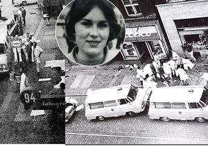 Před 45 lety zabila Olga Hepnarová autem v Praze osm lidí: Původně chtěl vystřílet Václavák