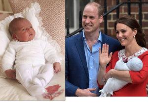 Rodiče prince Louise už oznámili jména jeho kmotrů.