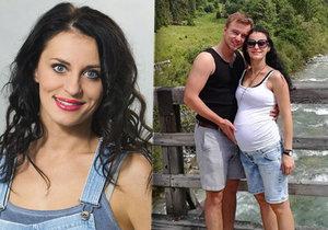 Těhotná Markéta Procházková v osmém měsíci těhotenství