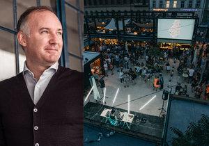 Architekt Martin Barry z New Yorku stojí za pražským projektem Manifesto, ve své práci hodlá pokračovat.
