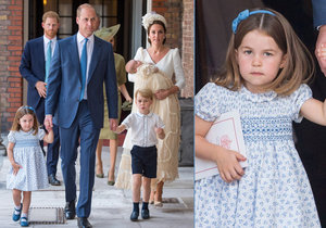 Princezna Charlotte překvapila: Dvěma slovy uzemnila dotěrné novináře!