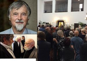 Divadelníka Kovalčuka vyprovází do uměleckého nebe 200 příbuzných a přátel: Byl legendou