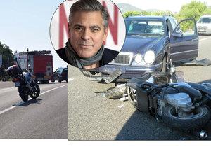 Dramatické detaily nehody George Clooneyho: Držel se za hlavu a křičel!