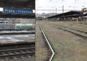 Mezi Hostivaří a Vršovicemi roste nové železniční spojení.