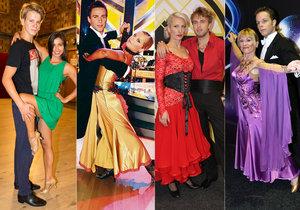 Vítězové taneční soutěže StarDance za poslední roky.