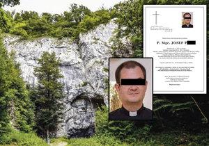 Tragický pád z Vlčího kopce: Farář Josef z Uherského Brodu zahynul na výletě s přáteli.