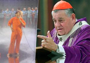 Kardinál Duka podá žalobu na kontroverzní hru. Uráží jeho víru.