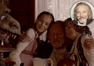 Gott zazářil v pohádce s dcerou! Charlotte mu ale hraje vnučku