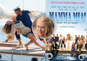 Mamma Mia! přichází podruhé a opět slibuje roztančenou letní podívanou.