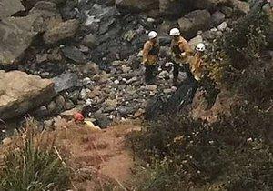 Britský pár zemřel na Santorini: S buginou se zřítili 200 metrů ze srázu (ilustrační foto).