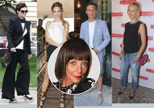 Františka opět hodnotí outfity celebrit.