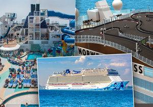 Výletní plavba na lodi je mimořádným zážitkem.