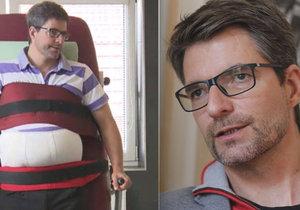 Invalidní moderátor Michal Jančařík musí za rehabilitace platit astronomické částky!