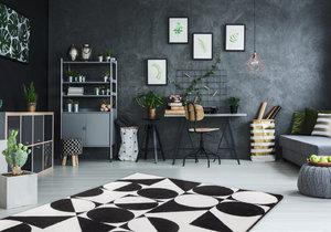 Kusový koberec Black & white 392 black-white, vesna.cz, od 829 Kč