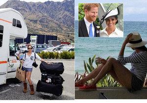 Dosud utajené fotky vévodkyně Meghan! Co vyváděla na Novém Zélandu? Teď se tam vrací i s Harrym!