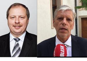 Některé dámy si na něj stěžovaly, tvrdí žalovaný senátor Horník o končícím kancléři.
