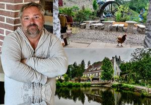 Milan Gojda je majitelem i sládkem pivovaru Dědkův mlýn. Svou činností se snaží navrátit slávu bývalé vyhlášené rekreační lokalitě při povodí Loděnice.