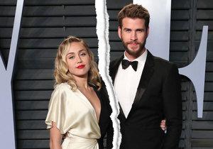 Drsný rozchod provokatérky Miley Cyrus! Zpěvačka spáchala virtuální sebevraždu.