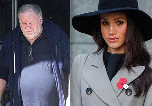 Otec vévodkyně Meghan Thomas: Infarkt a operaci si vymyslel?!