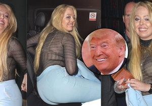 Trumpova dcera Tiffany to na mejdanu pořádně rozjela