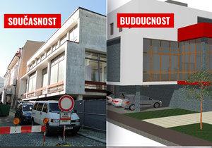 V Novém Jičíně vznikne přestavbou přístavby Hotelu Praha kulturní dům.