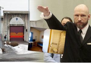 Sedm let od masakru v Oslu: Breivik si směšný trest odpykává v luxusním vězení