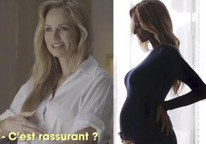 Adriana Sklenaříková své první dítě porodí každým dnem. V září oslaví 47. narozeniny