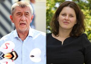 Babiš se sejde s kandidátkou Maláčovou. K mladé matce z ČSSD má výhrady Foldyna
