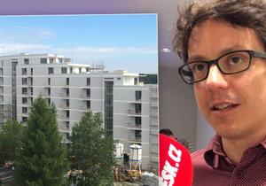 Praha má málo obecních bytů, podle odborníka Jana Vlacha musí město vytvářet další.