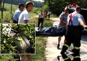 Motorkář Martin (†40) vyletěl z cesty, jeho dcera (13) skončila v nemocnici
