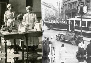 Když v Praze začalo být blaze, ale draze: Za první republiky všechno čtrnáctkrát zdražilo